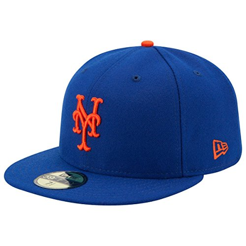 New York Mets Game (New Era 59FIFTY New York Mets MLB 2017 Authentic Collection On-Field Game Fitted Hat Size 7 1/2)