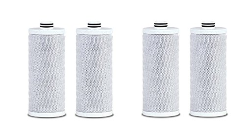 Aquasana Replacement Cartridges for Clean Water Machine Powered Water Filtration System, 2-pack