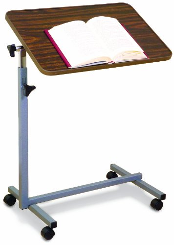 (Essential Medical Supply Tilt Top Overbed Table)
