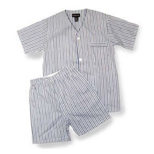 Botany Short Sleeve, Knee Length Broadcloth Print Pajama