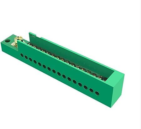 AWSW Caja de terminales uno en dieciséis Caja de distribución FJ6 Divisor doméstico monofásico Caja de Conexiones del Bloque de terminales de Cuatro mesas 660V 2 Paquetes: Amazon.es: Hogar