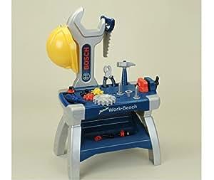 theo klein bosch mini junior workbench children kids game toys games. Black Bedroom Furniture Sets. Home Design Ideas
