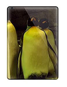 Excellent Ipad Air Case Tpu Cover Back Skin Protector Sleeping Penguins