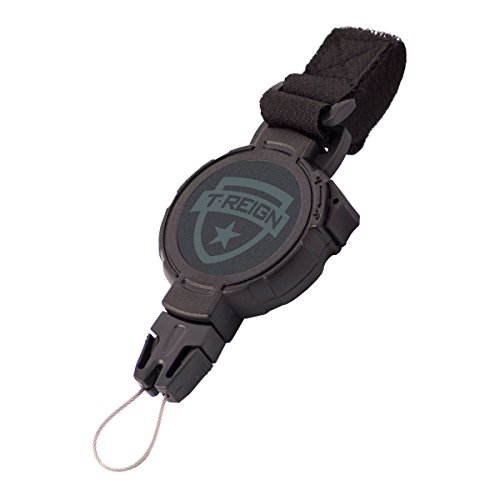- T-REIGN Xtreme Duty Golf Gear Retractor with Hook & Loop Strap and Kevlar Cord (36