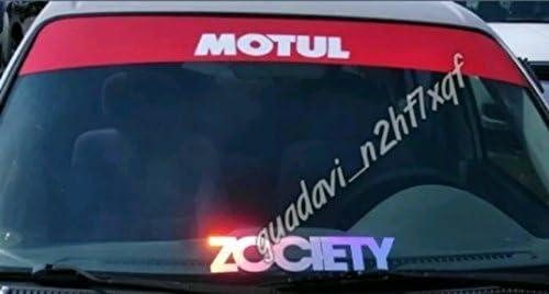 Supersticki Zociety Windshield Aufkleber Decal Hintergrund Maße In Inch S Windows Banners Cars Stickers Graphics Jdm Auto
