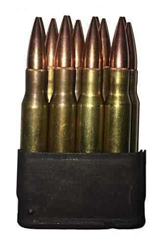 M1 Garand Clips - J&M Specialties M1 Garand 30-06 Springfield Dummy Rounds in Enbloc Snap Caps WW2 WWII US GI (1 Enbloc)