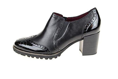 Tamaris 24320 Damen Slipper Black Leather