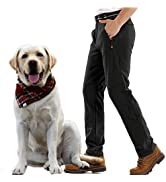 Jessie Kidden Waterproof Trousers Mens, Snow Ski Fleece Lined Thermal Soft Shell Insulated Winter...