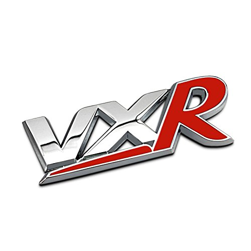Dsycar 1Pcs 3D Metal VXR Car Side Fender Rear Trunk Emblem Badge Sticker Decals for Universal Cars Motorcycle Car Styling C0552