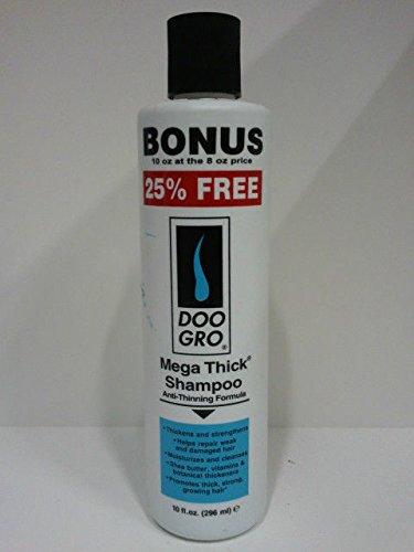 DOO GRO Mega Thick Growth Shampoo, 10 oz (Do Gro Shampoo)