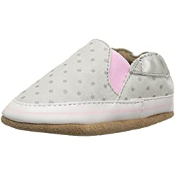 Robeez Girls' Dot Mania Crib Shoe