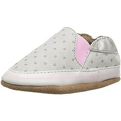 Robeez Girls' Dot Mania Crib Shoe