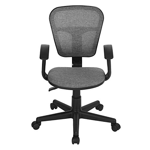 41sBksEwHZL - Kids-Desk-Chair-Coavas-Ergonomical-Mid-Back-Mesh-Height-Adjustable-Chair-for-Kids-Teens-Gaming-Studying-Grey