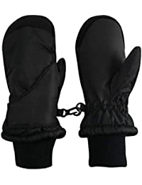 Kids Toddler and Baby Easy-On Wrap Waterproof Thinsulate Winter Mittens