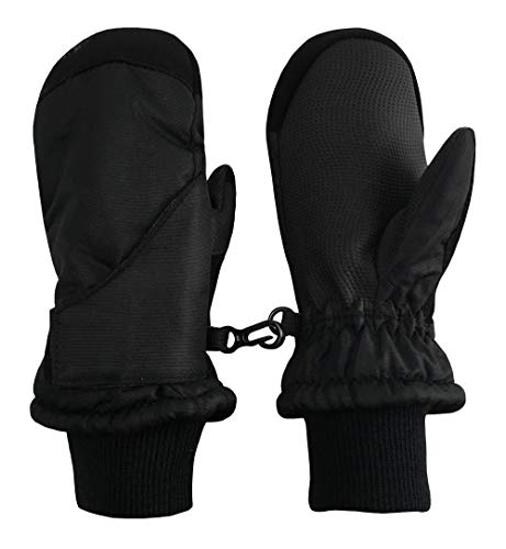 N'Ice Caps Kids Toddler and Baby Easy-On Wrap Waterproof Thinsulate Winter Mittens