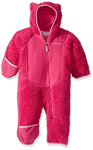 Columbia Foxy BabySherpa Bunting, Pink ice/Pink Clover, 12/18