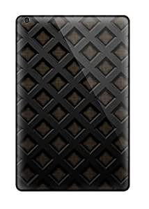 Awesome Dark Texture Flip Cases With Fashion Design For Ipad Mini