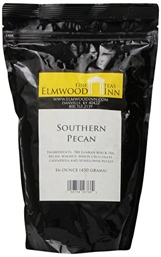 Elmwood Inn Fine Teas, Southern Pecan Black Tea, 16-Ounce Pouch -