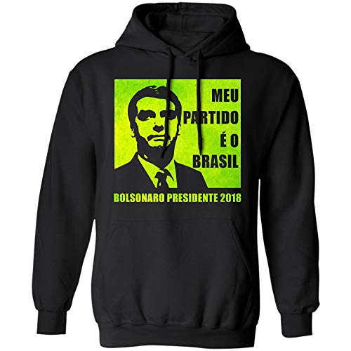 (Bolsonaro 2018 Presidente T-Shirt - MEU Partido e o Brasil)