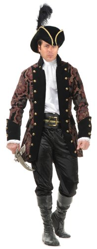 Charades Mens Royal Pirate Rogue Adult Costume As Shown - Medium by Charades
