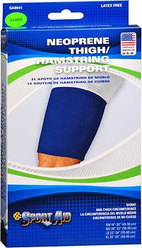 Sport Aid Neoprene Thigh/Hamstring Support XL - 1 ea., Pack of 6 by SportAid