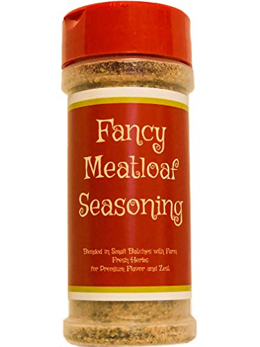 Premium | Fancy MEATLOAF Seasoning | Crafted in Small Batches with Farm Fresh Herbs for Premium Flavor and Zest