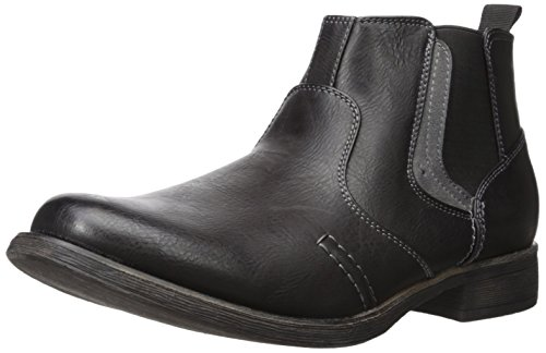 Madden Men's M Basket Chelsea Boot, Black, 12 M US (Madden Boots For Man)