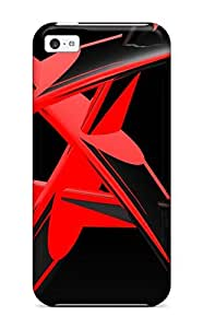 For Iphone Case, High Quality Red Star For Iphone 5c Cover Cases
