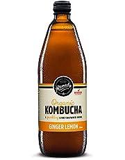 Remedy Organic Kombucha Ginger & Lemon, 750ml