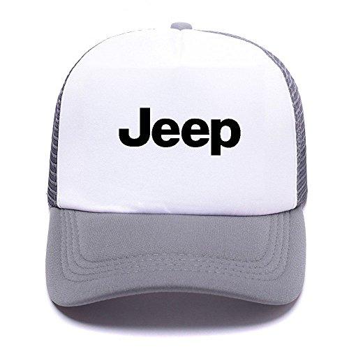 Jep Car Logo VGVHNO Trucker Hat Baseball Caps Gorras de Béisbol for Men Women Boy Girl Gray