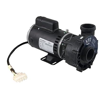 amazon com: spaguts aqua-flo flow-master xp2 48y spa pump, by gecko, 2 0  bhp, 1 5 hp cont, 230v, w/4ft amp cord: garden & outdoor