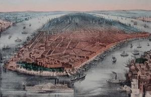 Currier & Ives Fine Art (View of New York)