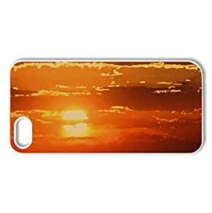 Sun In The Sky Watercolor style Cover iPhone 5 and 5S Case (Sun & Sky Watercolor style Cover iPhone 5 and 5S Case)