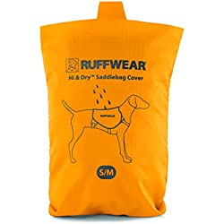 RUFFWEAR - Hi & Dry Saddlebag Cover, Sunrise Yellow, Small/Medium