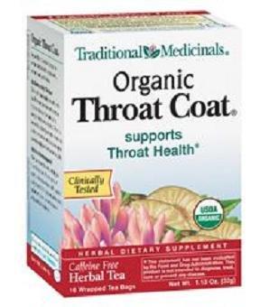 Traditional Medicinals Tea Throat Coat