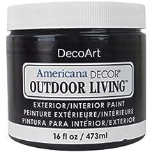 Decoart DECADOL-22.01 Outdoor Living 16oz Iron Gate Americana Outdoor Living 16oz Iron Gate