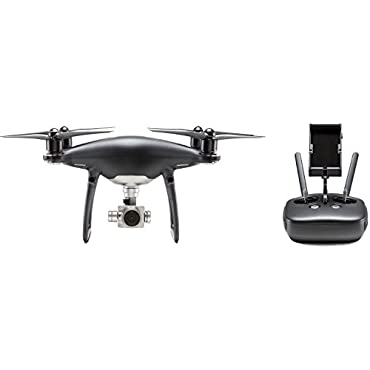 DJI Visionary Intelligence, Elevated Imagination Phantom 4 Pro Obsidian, Black (CP.PT.00000018.01)