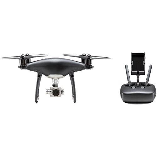 DJI Visionary Intelligence, Elevated Imagination Phantom 4 Pro Obsidian, Black (CP.PT.00000018.01) by DJI
