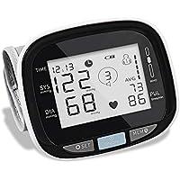 مقياس ذكي بشاشة رقمية للمعصم من اي ام دي كيه لقياس ضغط الدم ومراقبة معدل ضربات القلب، نطاق واسع وسوار معصم كبير، لمراقبة…