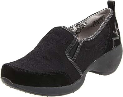 Anne Klein Sport Women's Kinley Slip-On Loafer,Black Fabric,5.5 M US