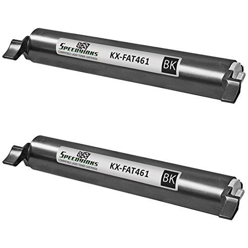 Speedy Inks - 2 Pack Compatible Panasonic KX-FAT461 Black Laser Toner KXFAT461 for use in KX-MB2000, KX-MB2010, KX-MB2030, & KX-MB2062