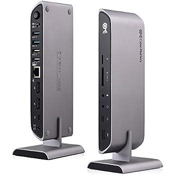 Amazon Com Cable Matters Gen 2 Usb C Dock Usb C Docking