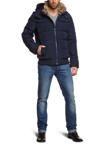 hilfiger denim herren jacke thdm basic casual bomber 22. Black Bedroom Furniture Sets. Home Design Ideas