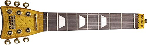 Shredneck Practice Guitar Neck - Shredneck Practice Guitar Neck Gold Metalflake