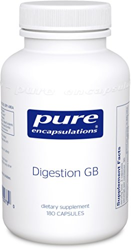Pure Encapsulations - Digestion GB - Digestive Enzyme Formula with Extra Support for Gall Bladder Function and Fat Digestion* - 180 (Multi Enzyme Complex 180 Capsule)