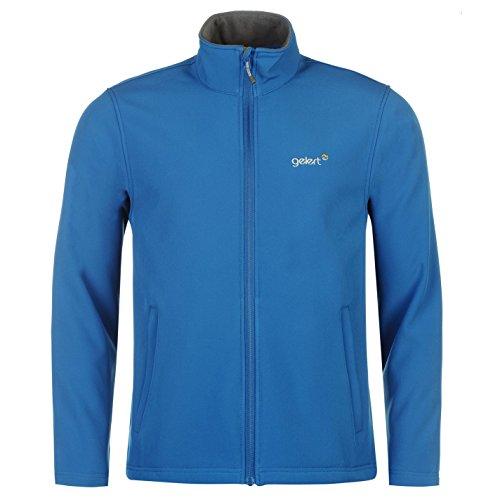 Gelert Herren Softshell Jacke Fleece Gefüttert Gelert Blau XL FsV3S0ENEe
