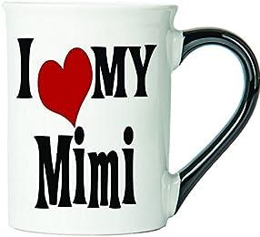 I Love My Mimi Coffee Mug, Ceramic Mimi Coffee Cup, Mimi Gifts By Tumbleweed