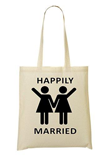 We Are Happily Married Bolso De Mano Bolsa De La Compra