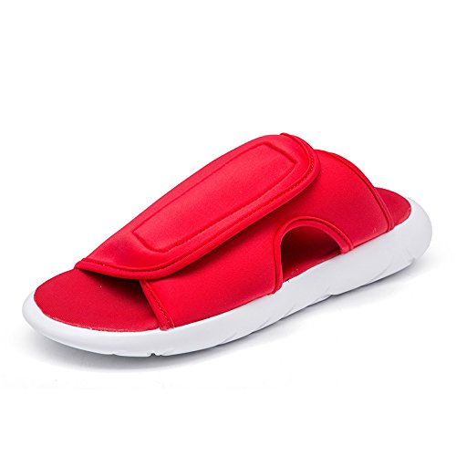 Xing Lin Sandalias De Hombre Antideslizante Nuevas Zapatillas Macho Macho Sandalias De Verano Flip Flops Sandalias Sandalias De Hombres Hombres Tendencia red