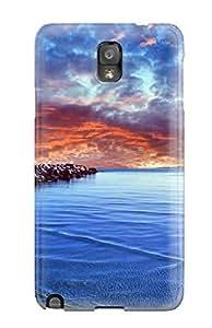 New Arrival Premium Note 3 Case Cover For Galaxy (baltic Sea)